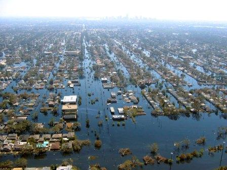 New Orleans - After Hurricane Katrina
